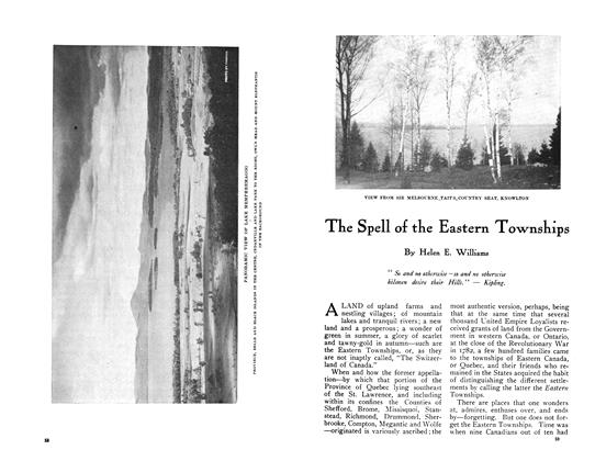 Article Preview: The Spell of the Eastern Townships, July 1910 | Maclean's