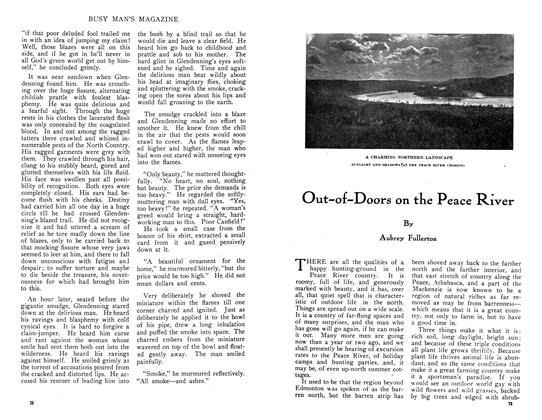 Article Preview: Out-of-Doors on the Peace River, July 1910 | Maclean's