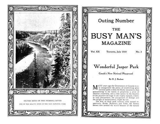 Article Preview: Wonderful Jasper Park, July 1910 | Maclean's