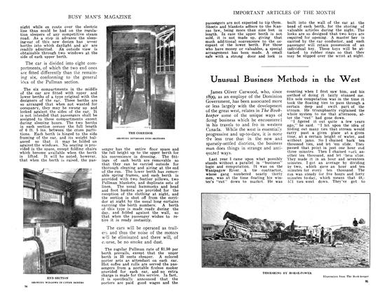 Article Preview: Unusual Business Methods in the West, July 1910 | Maclean's