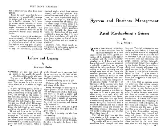 Article Preview: Retail Merchandising a Science, July 1910 | Maclean's