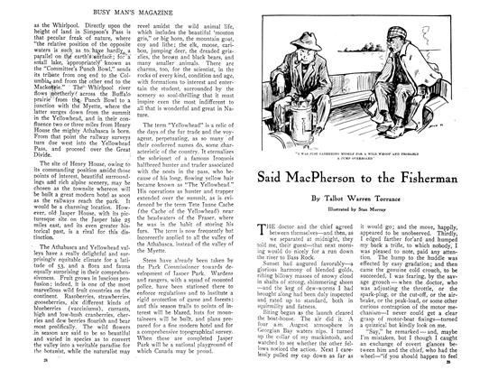 Article Preview: Said MacPherson to the Fisherman, July 1910 | Maclean's
