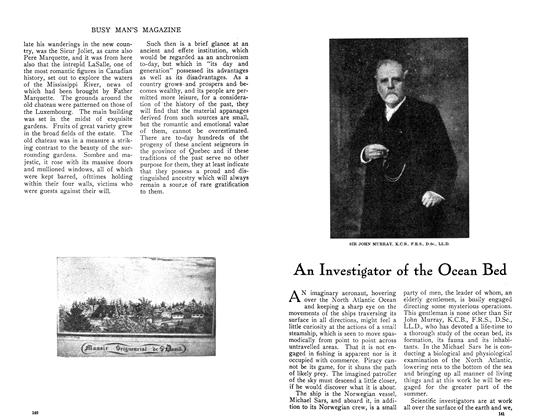 Article Preview: An Investigator of the Ocean Bed, July 1910 | Maclean's