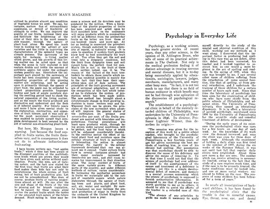 Article Preview: Psychology in Everyday Life, August 1910 | Maclean's