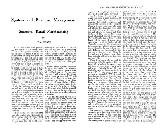 Article Preview: Successful Retail Merchandizing, August 1910 | Maclean's