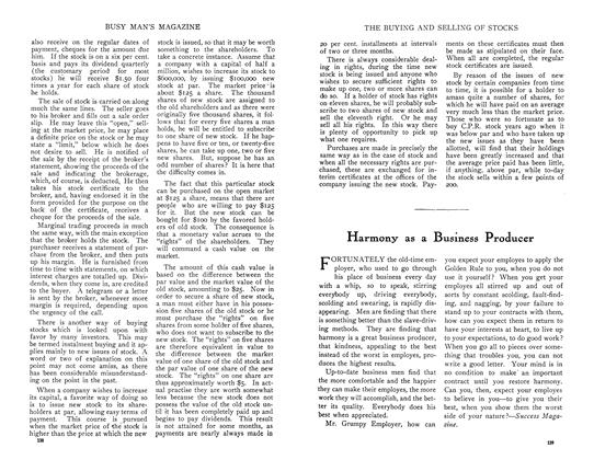 Article Preview: Harmony as a Business Producer, August 1910 | Maclean's