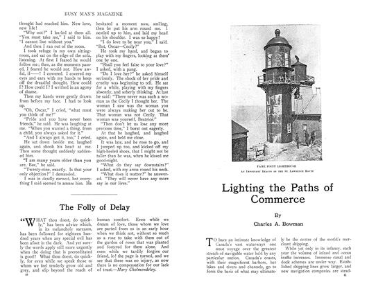 Article Preview: Lighting the Paths of Commerce, September 1910 | Maclean's