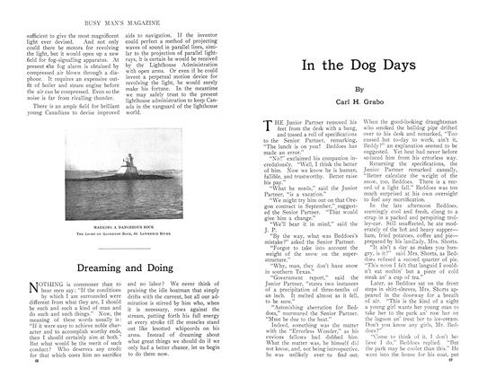 Article Preview: In the Dog Days, September 1910 | Maclean's