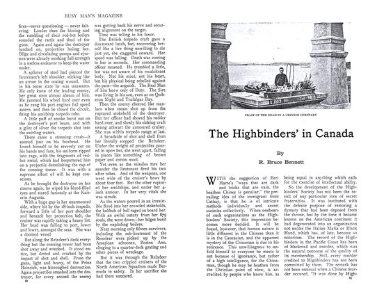 Article Preview: The Highbinders' in Canada, September 1910 | Maclean's