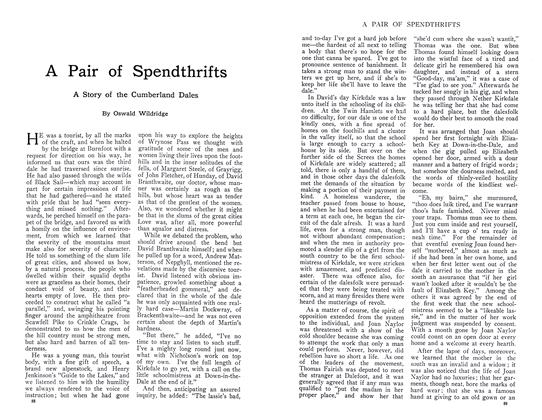 Article Preview: A Pair of Spendthrifts, September 1910 | Maclean's