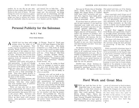 Article Preview: Hard Work and Great Men, September 1910 | Maclean's
