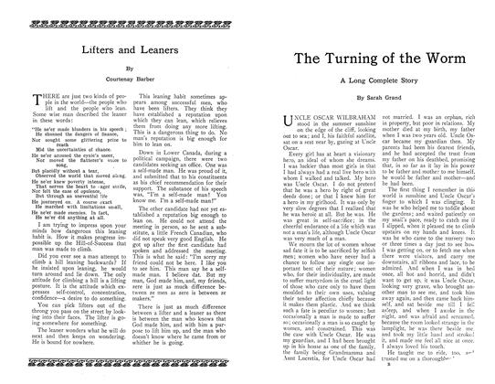 Article Preview: The Turning of the Worm, September 1910 | Maclean's