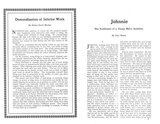 Article Preview: Demoralization of Inferior Work, October 1910 | Maclean's