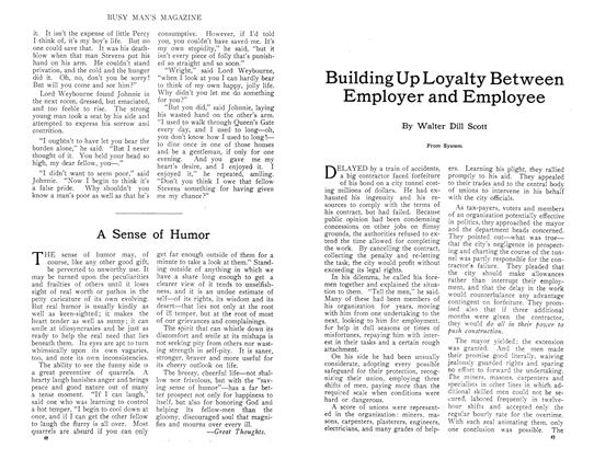 Article Preview: Building Up Loyalty Between Employer and Employee, October 1910 | Maclean's