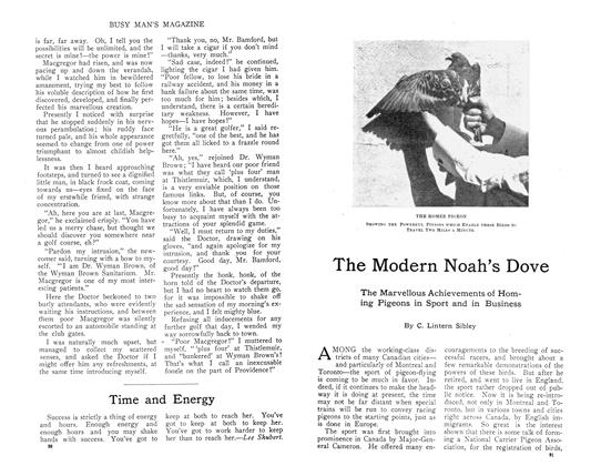 Article Preview: The Modern Noah's Dove, October 1910 | Maclean's