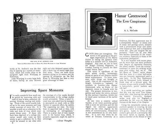 Article Preview: Hamar Greenwood The Ever Conspicuous, October 1910 | Maclean's