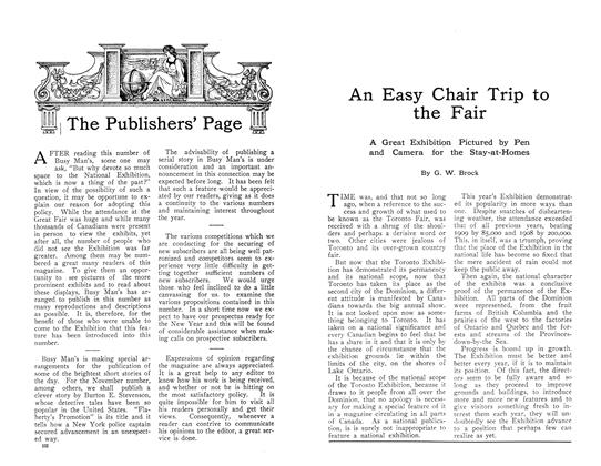 Article Preview: An Easy Chair Trip to the Fair, October 1910 | Maclean's