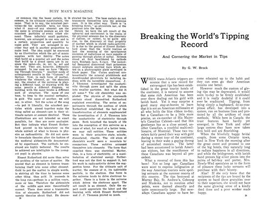 Article Preview: Breaking the World's Tipping Record, October 1910 | Maclean's