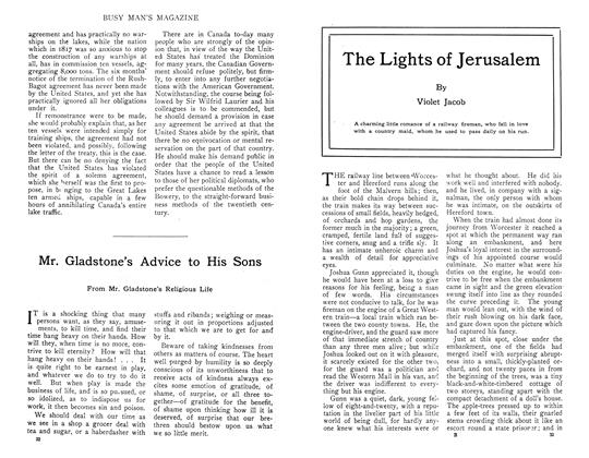 Article Preview: The Lights of Jerusalem, November 1910 | Maclean's