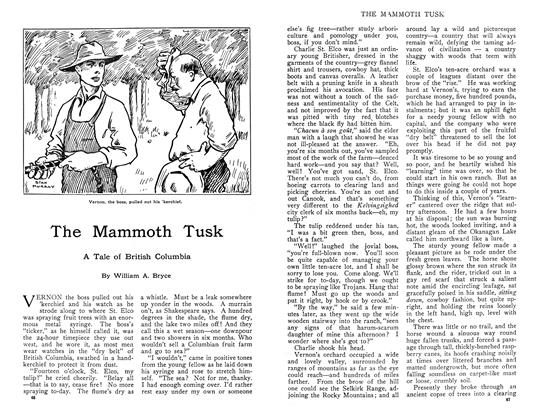 Article Preview: The Mammoth Tusk, November 1910 | Maclean's