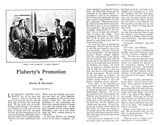 Article Preview: Flaherty's Promotion, November 1910 | Maclean's