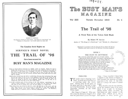 Article Preview: The Trail of '98, November 1910 | Maclean's