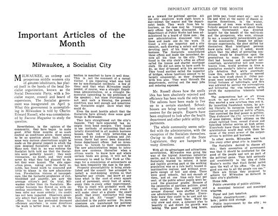 Article Preview: Milwaukee, a Socialist City, November 1910 | Maclean's