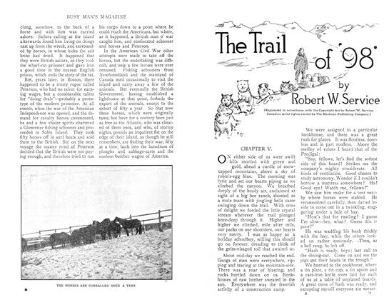 Article Preview: The Trail of '98', December 1910 | Maclean's