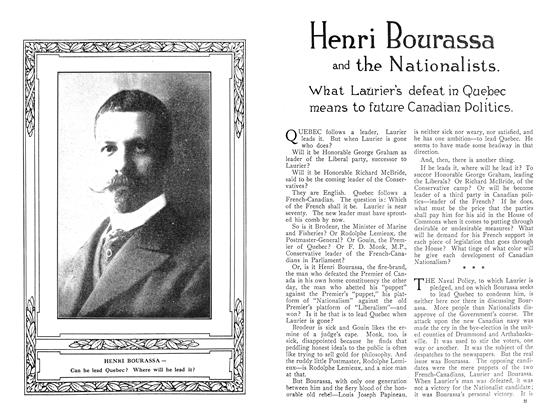 Article Preview: Henri Bourassa and the Nationalists., December 1910 | Maclean's