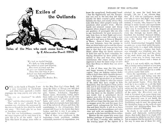 Article Preview: Exiles of the Outlands, January 1911 | Maclean's