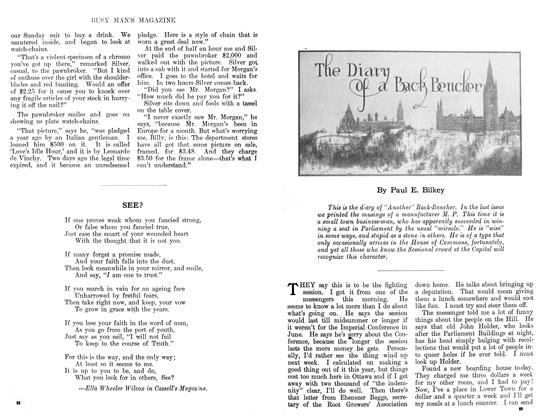 Article Preview: The Diary of a Back Bencher, January 1911 | Maclean's