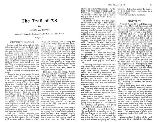 Article Preview: The Trail of '98, February 1911 | Maclean's