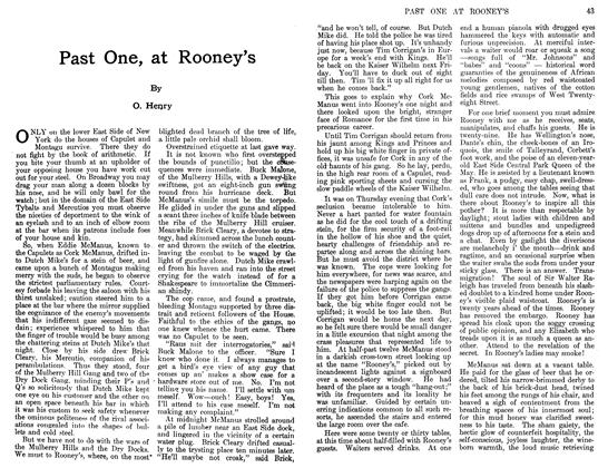 Article Preview: Past One, at Rooney's, March 1911 | Maclean's
