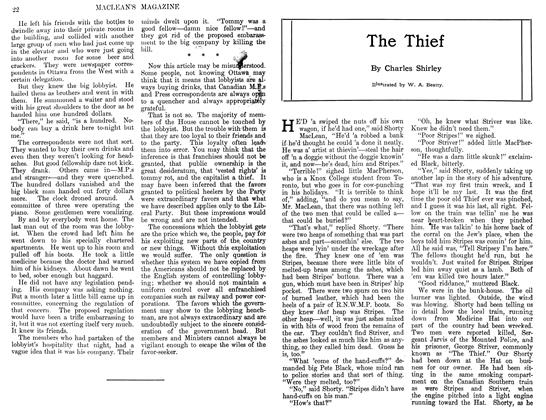 Article Preview: The Thief, March 1911 | Maclean's