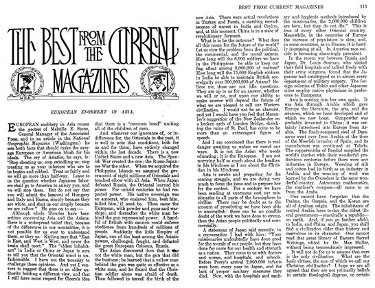 Article Preview: THE BEST FROM THE CURRENT MAGAZINES, March 1911 | Maclean's