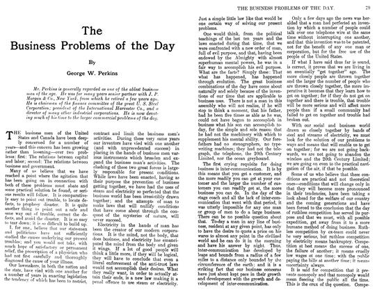 Article Preview: The Business Problems of the Day, April 1911 | Maclean's