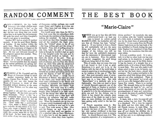 Article Preview: RANDOM COMMENT, April 1911 | Maclean's