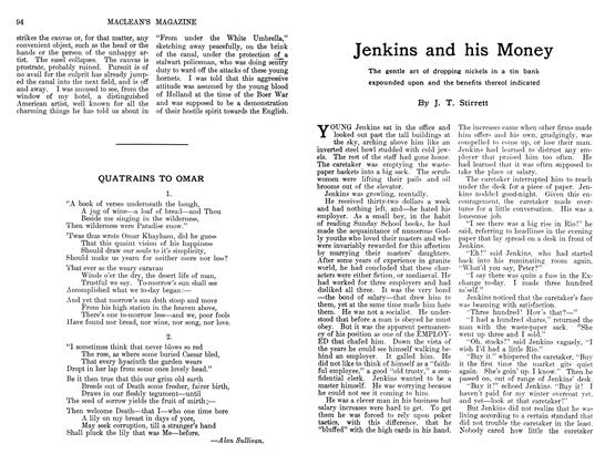 Article Preview: Jenkins and his Money, May 1911 | Maclean's