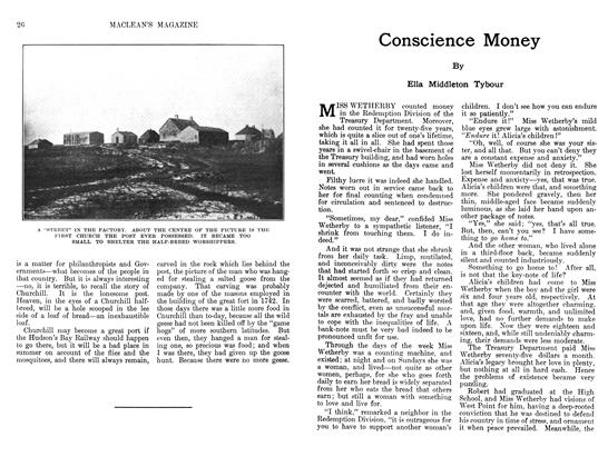 Article Preview: Conscience Money, May 1911 | Maclean's