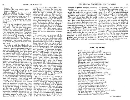Article Preview: THE PASSING, June 1911 | Maclean's
