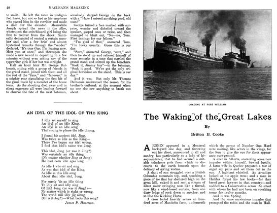 Article Preview: The Waking of the Great Lakes, June 1911 | Maclean's