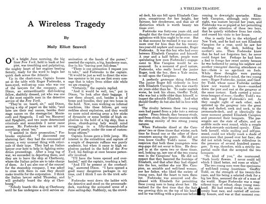 Article Preview: A Wireless Tragedy, June 1911 | Maclean's