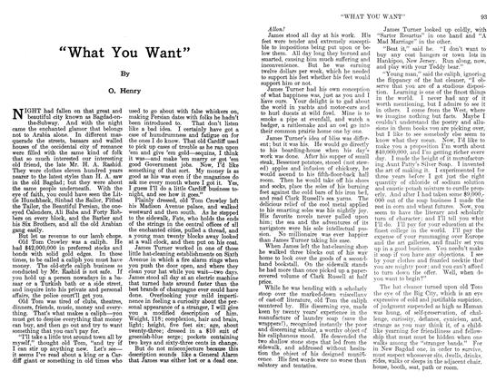 "Article Preview: ""What You Want"", June 1911 