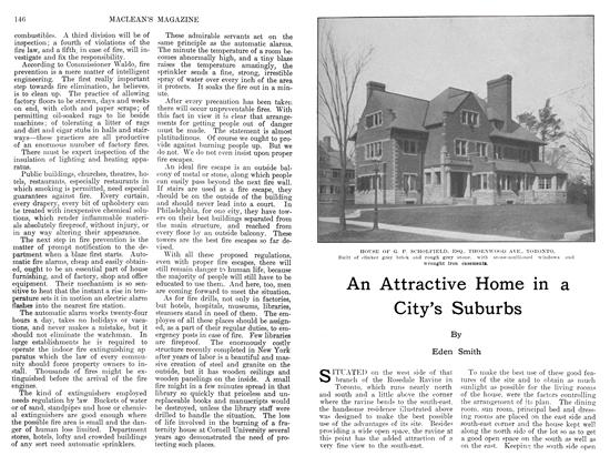 Article Preview: An Attractive Home in a City's Suburbs, JUIY 1911 1911 | Maclean's
