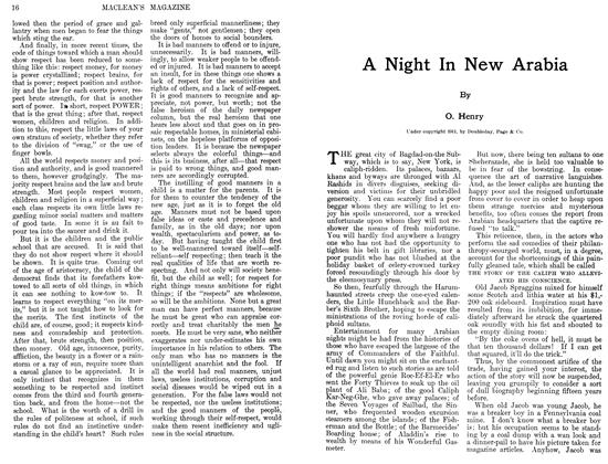 Article Preview: A Night In New Arabia, August 1911 | Maclean's