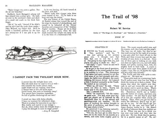 Article Preview: The Trail of '98, August 1911 | Maclean's