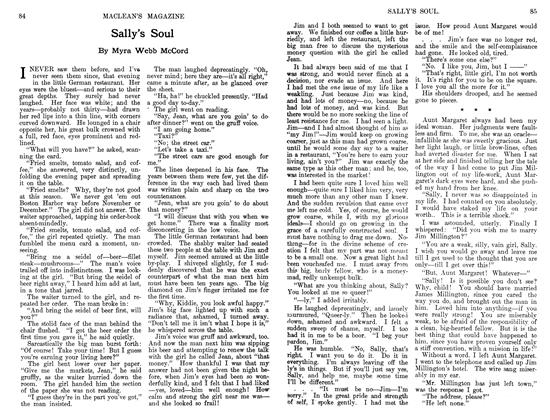 Article Preview: Sally's Soul, August 1911   Maclean's