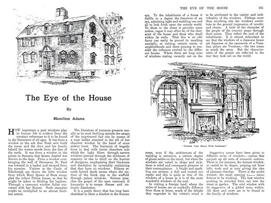 Article Preview: The Eye of the House, September 1911 | Maclean's