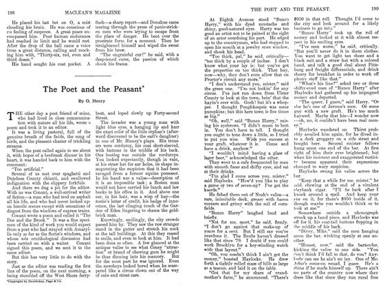 Article Preview: The Poet and the Peasant❋, September 1911 | Maclean's