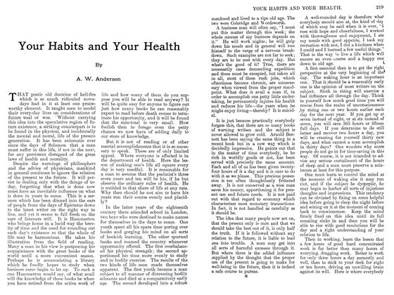 Article Preview: Your Habits and Your Health, September 1911 | Maclean's